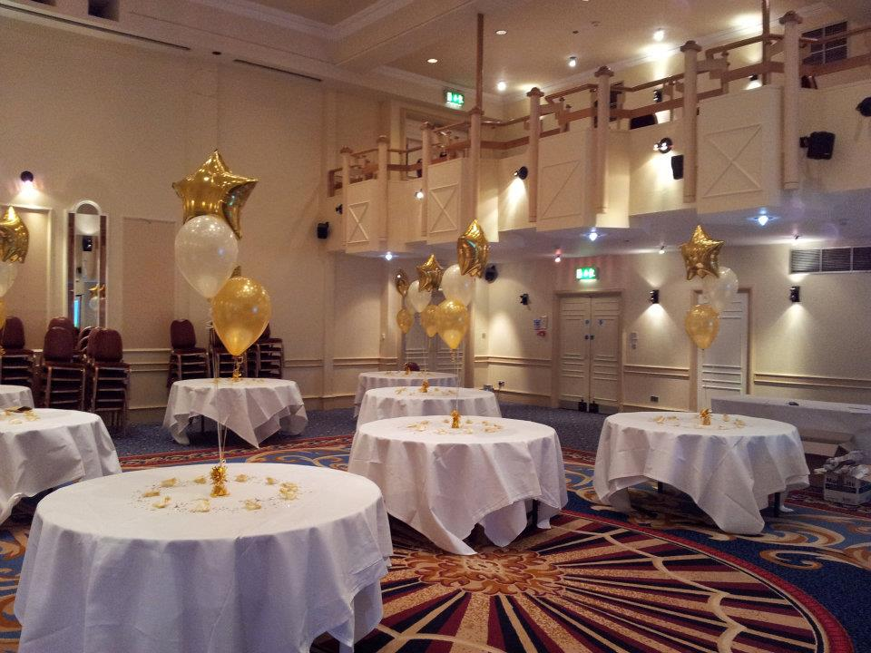 Angel Hotel Wedding Decor From Cardiff Balloons