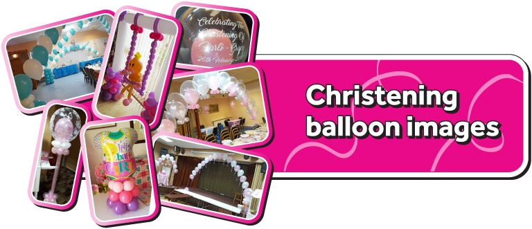 Photo Gallery Of Christening Balloons By Cardiff Balloons