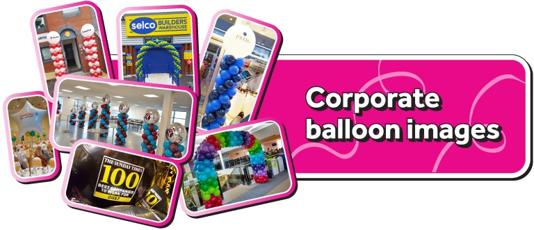 Photo Gallery Of Corporate balloon images and ideas
