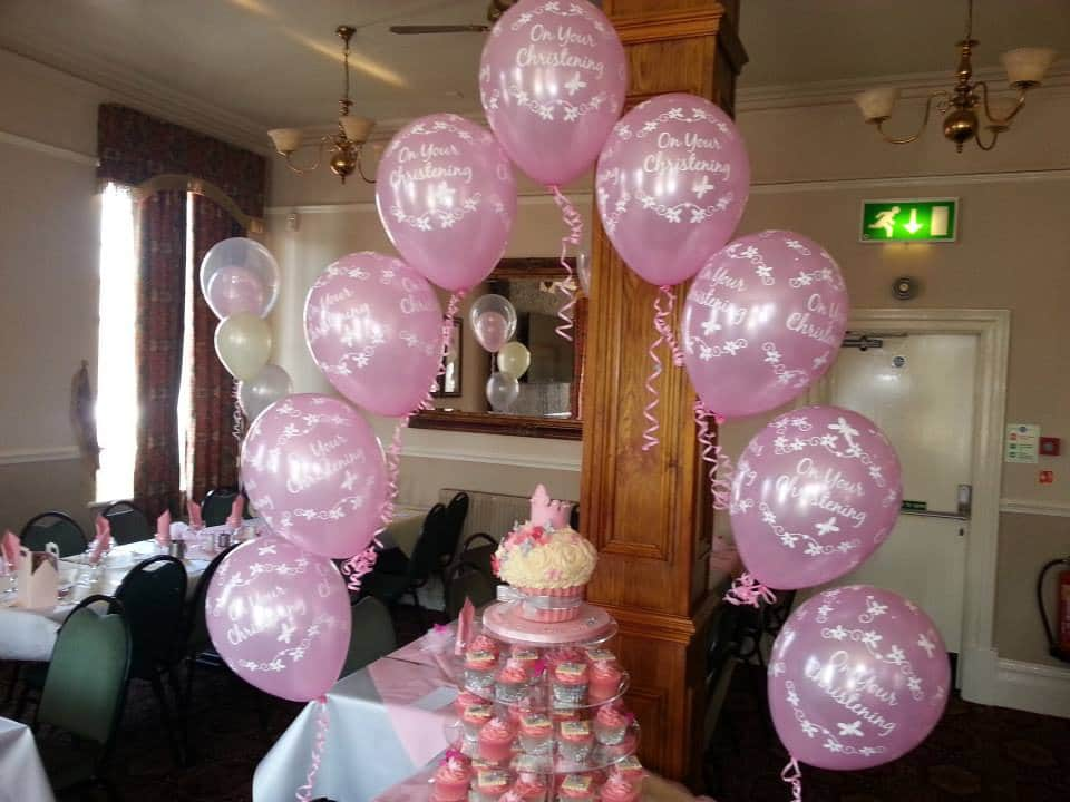 Cardiff Balloons Offering Christening Balloons