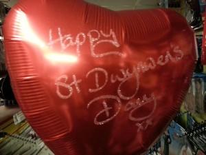 St Dwynwens Day Balloon