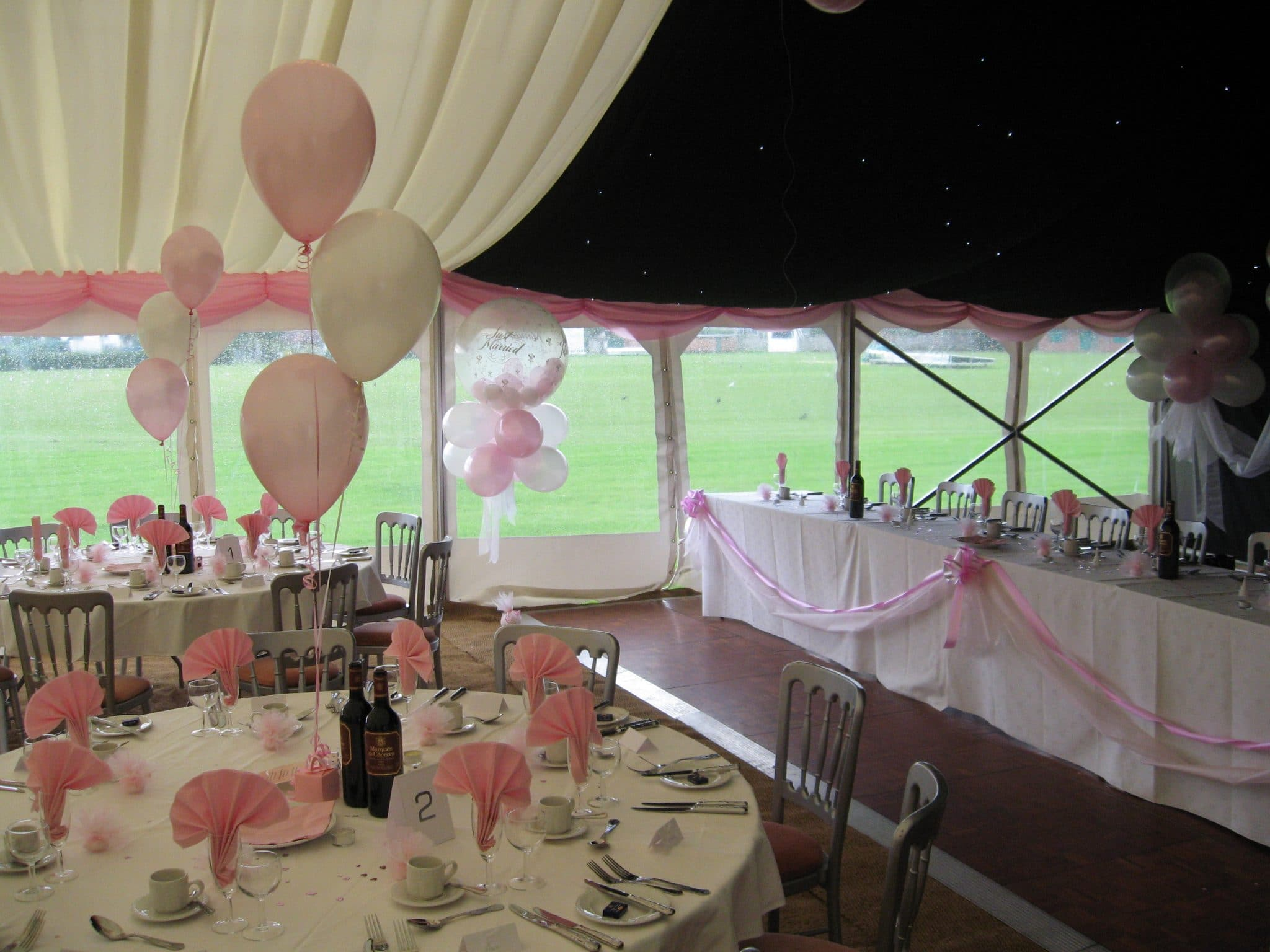 Cardiff Balloon decorate Penarth Athletic Club