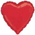 red heart foils