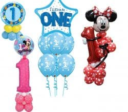 1st Birthday Balloon Designs