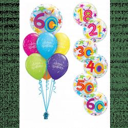 Birthday Bubble Luxury Bouquet
