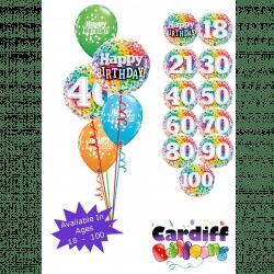Birthday Classic Confetti Bouquet