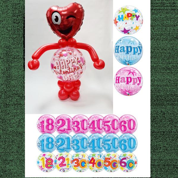 Bubble Man Balloon Design From Cardiff Balloons