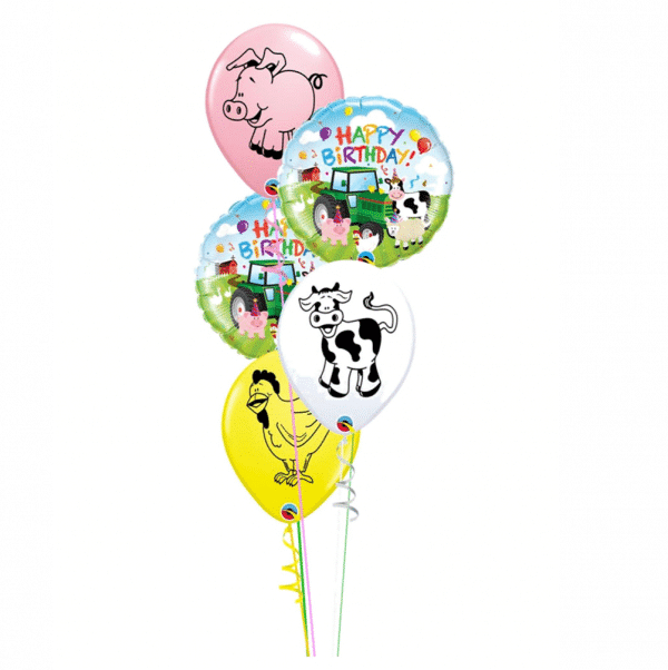 Childrens Farmyard Classic Bouquet From Cardiff Balloons