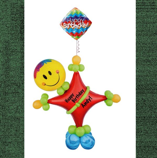 Starman Balloon Character From Cardiff Balloons