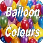 Balloon Colour Choices