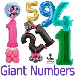 Giant Nmber Balloons