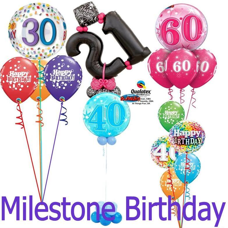 Milestone Birthday Designs