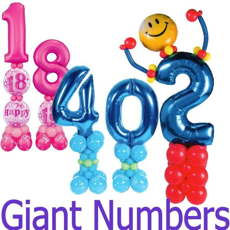 Giant Number Designs