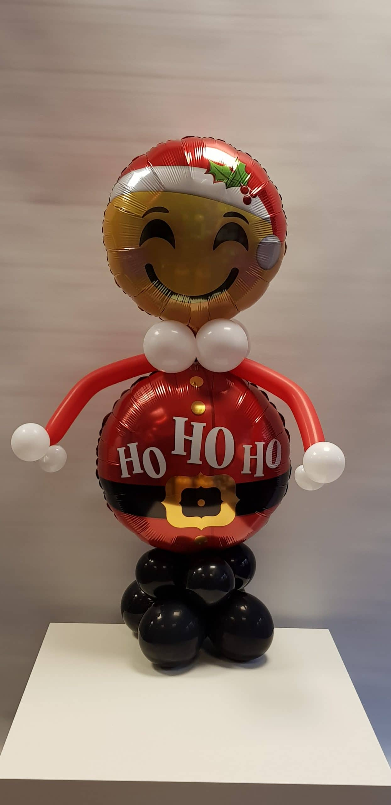 Santa balloon character available from Cardiff Balloons