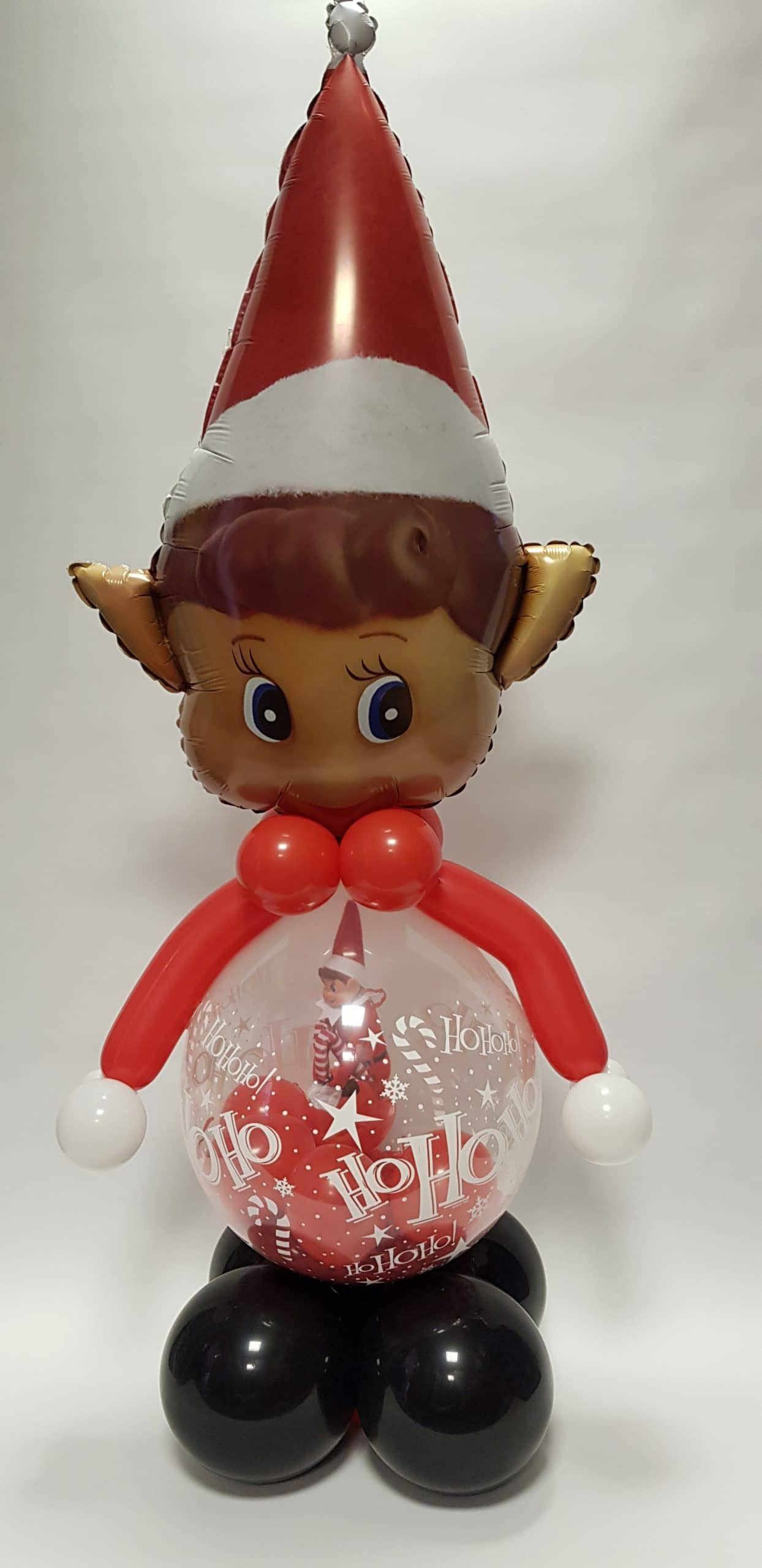 Welcome Elf balloon available from Cardiff Balloons