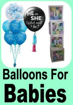 Baby Balloon Designs