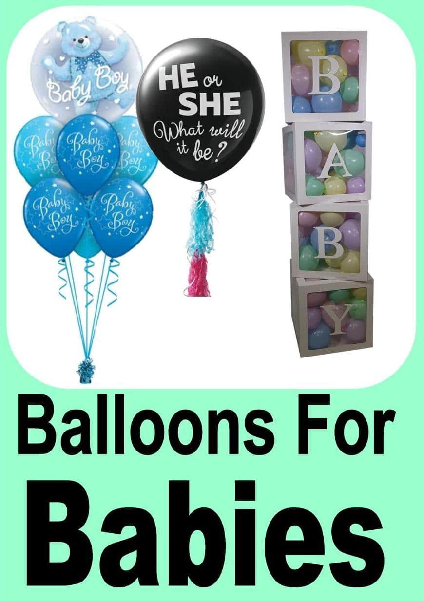 Baby Balloon Designs