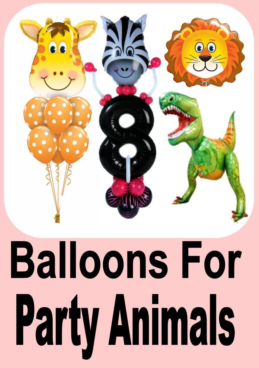 Party Animal Balloon Designs