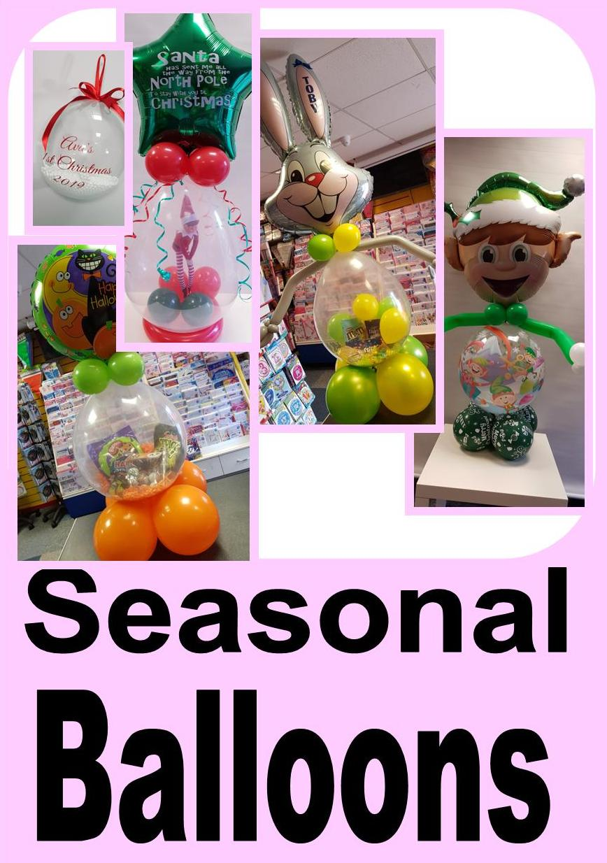 Seasonal Balloon Deisgns