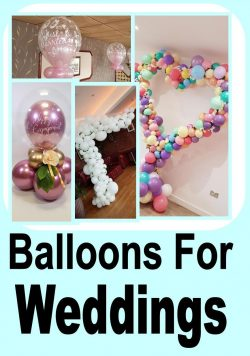 Wedding Balloon Designs