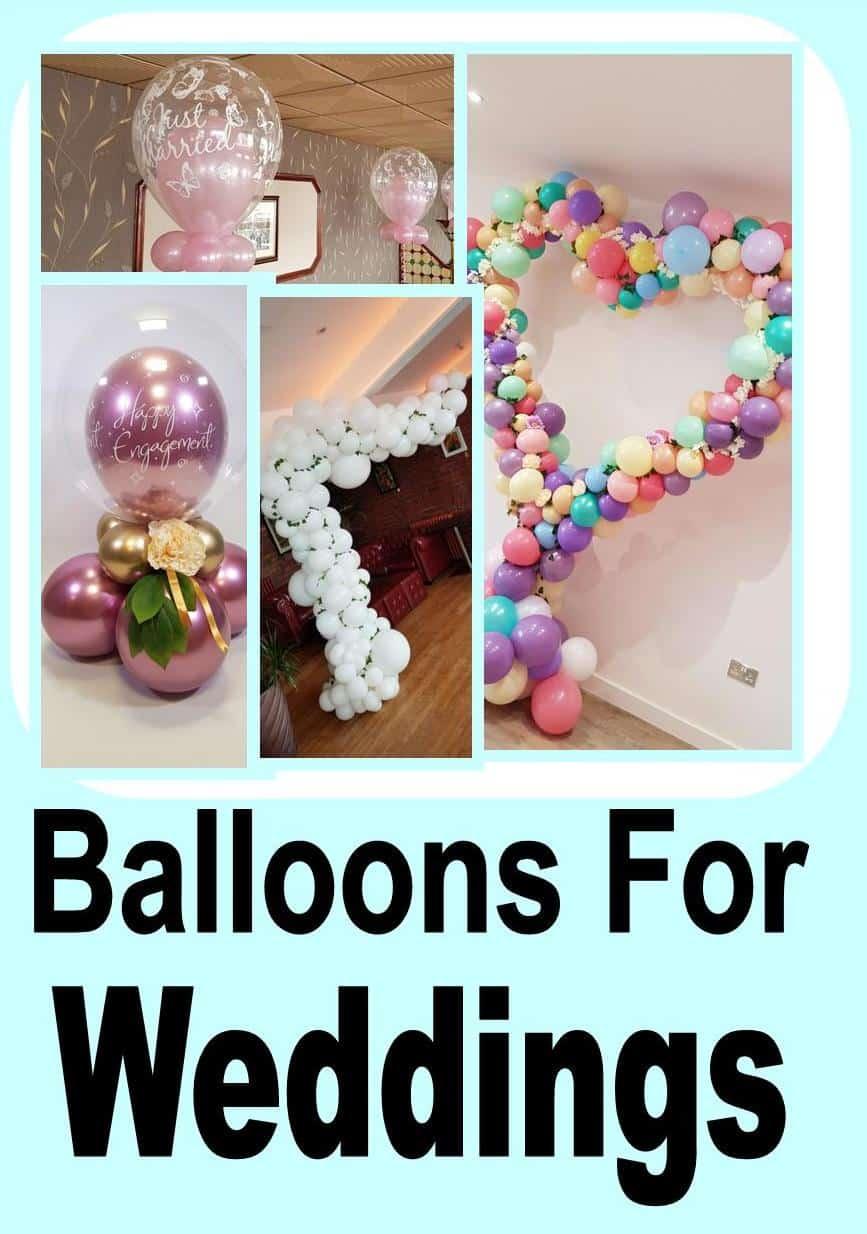 Wedding Balloon Designs