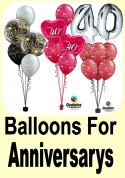 Anniversary Balloon Ideas