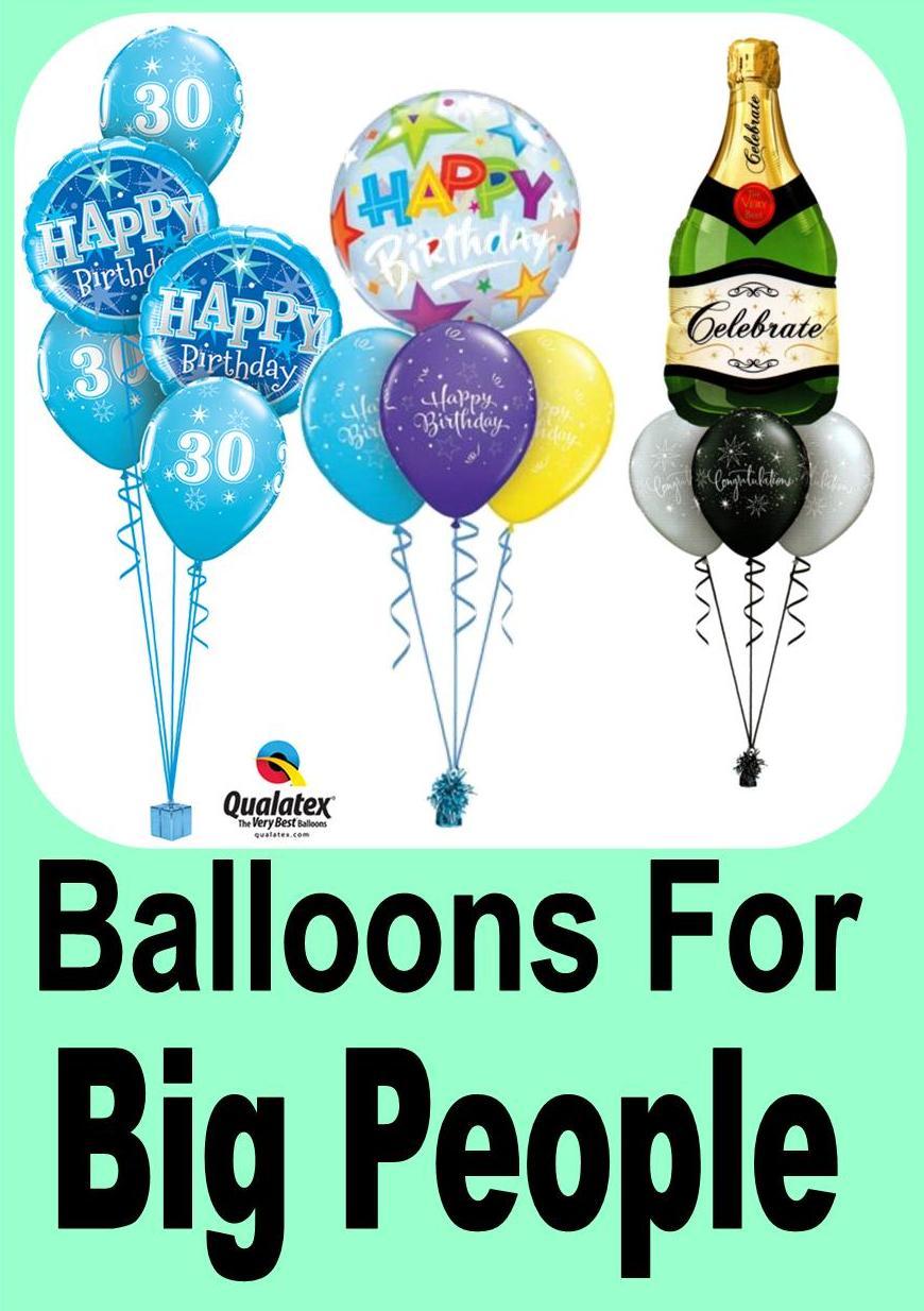 Big People Balloons