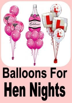 Hen Night Balloon Ideas