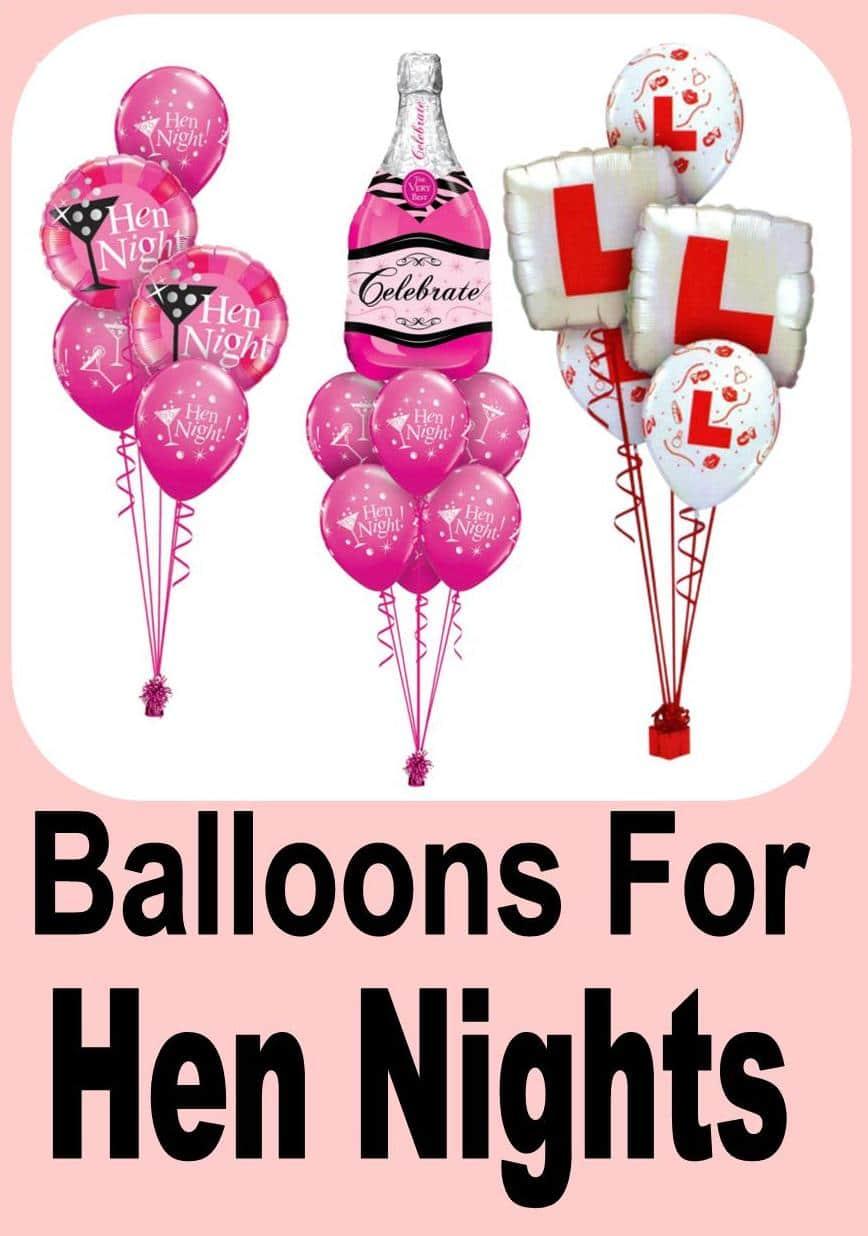 Hen Night Balloon Ideas