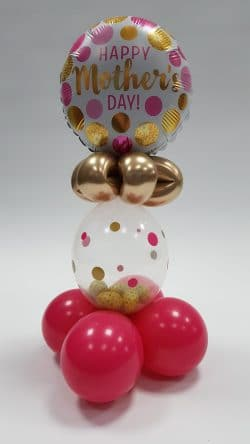 Mothers day balloon gift available from Cardiff Balloons
