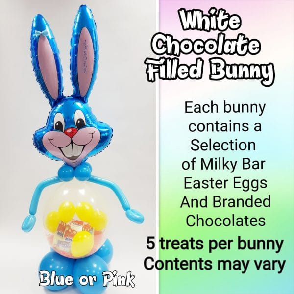 White Chocolate Easter Filled Balloon