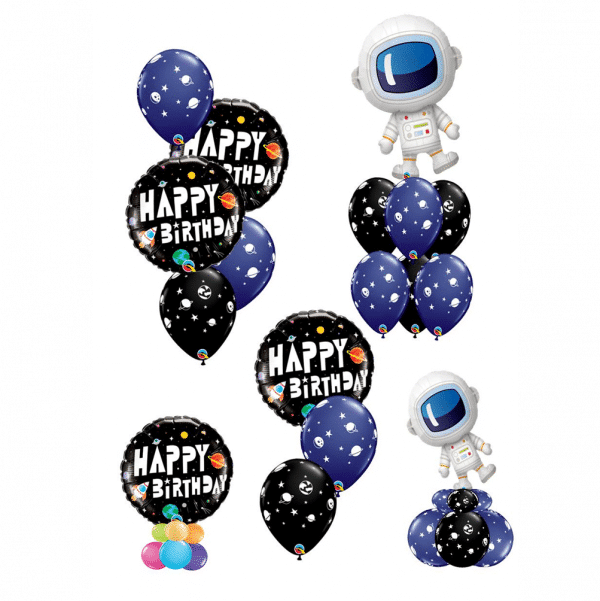 Space Themed Birthday Balloons From Cardiff Balloons