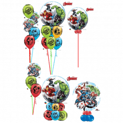 Avengers Balloon Designs From Cardiff Balloons