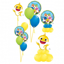 Baby Shark Balloons From Cardiff Balloons
