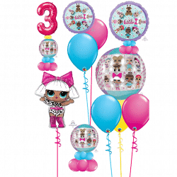 LOL Doll Balloon Designs From Cardiff Balloons