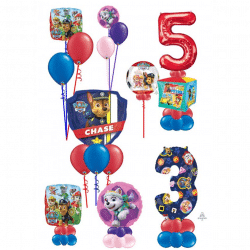 Paw PAtrol Balloon Designs From Cardiff Balloons
