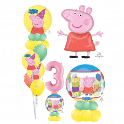 Peppa Pig Balloon Designs From Cardiff Balloons