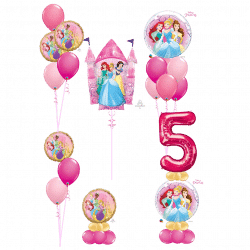 Princess Balloon Designs From Cardiff Balloons