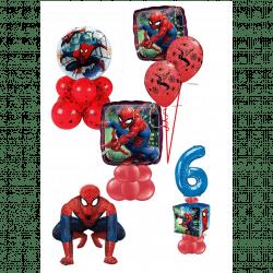 Spiderman Balloon Designs From Cardiff Balloons