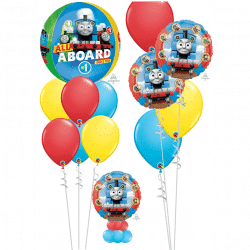 Thomas The Tank Engine Balloons From Cardiff Balloons