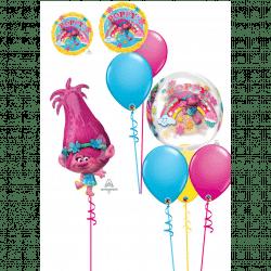Trolls Balloon Designs From Cardiff Balloons