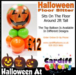 Halloween Super Sitting Balloon