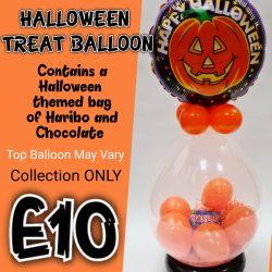 Halloween Sweet Balloon From Cardiff Balloons