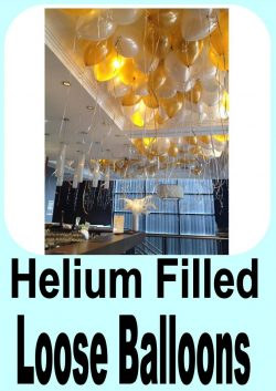 Loose Helium Filled Balloons