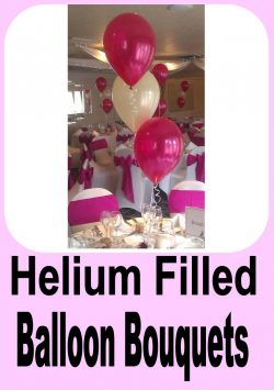Helium Filled Balloon Bouquets