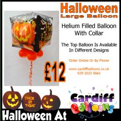 Large Halloween Floating Balloon