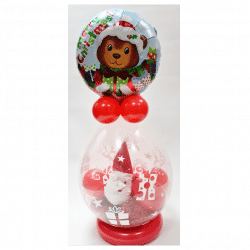 Christmas Toy In A Balloon Frm www.cardiffballoons.co.uk