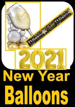 New Year Balloons