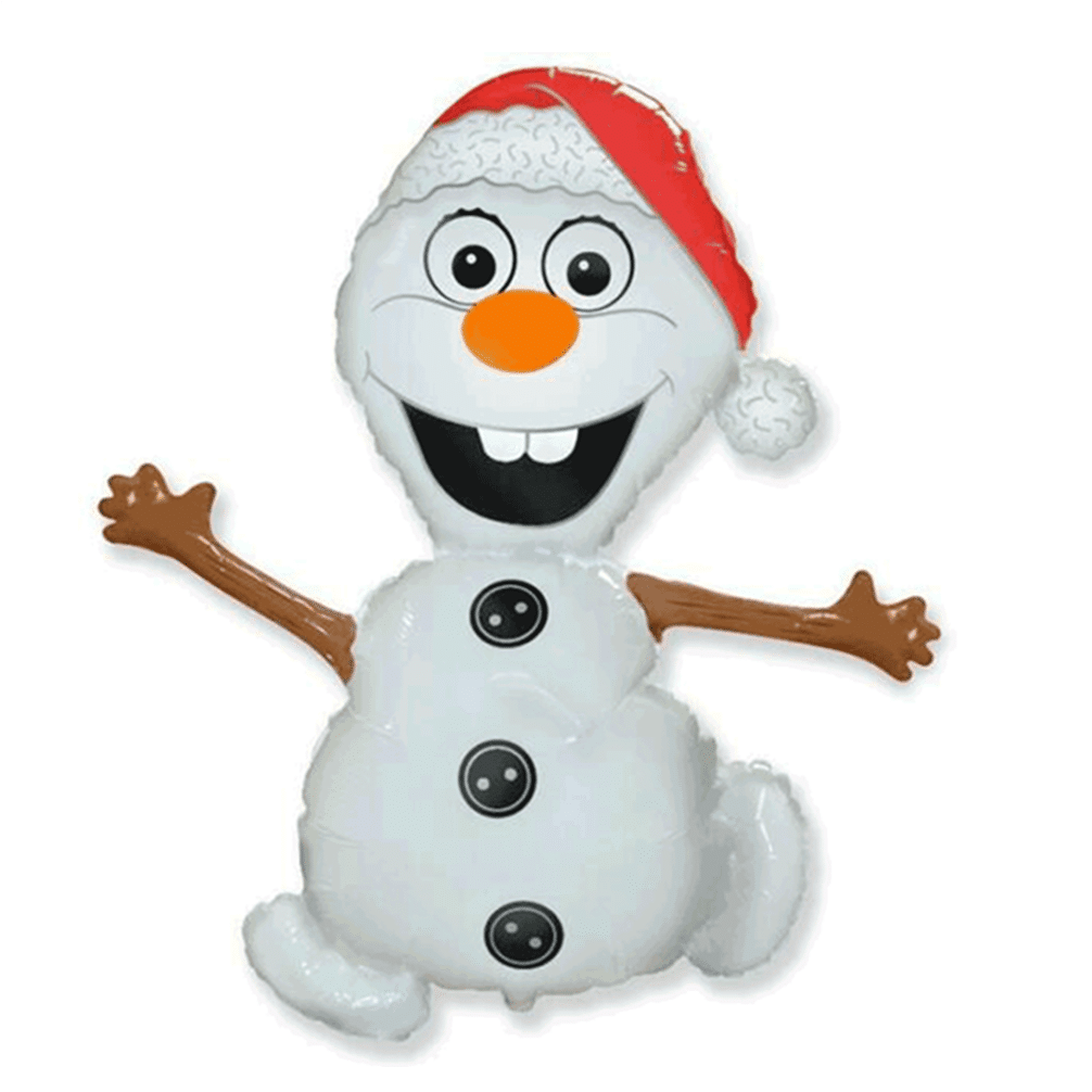 Large Olaf Snowman Balloon Available From www.cardiffballoons.co.uk