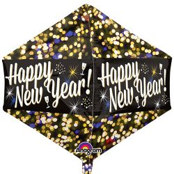 Happy New Year Foil Balloon From www.cardiffballoons.co.uk